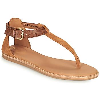 鞋子 女士 凉鞋 Clarks 其乐 KARSEA POST 棕色 / 驼色