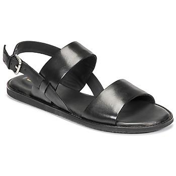 鞋子 女士 凉鞋 Clarks 其乐 KARSEA STRAP 黑色