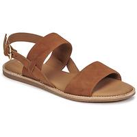 鞋子 女士 凉鞋 Clarks 其乐 KARSEA STRAP 驼色