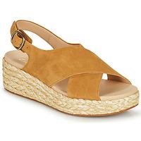 鞋子 女士 凉鞋 Clarks 其乐 KIMMEI CROSS 棕色