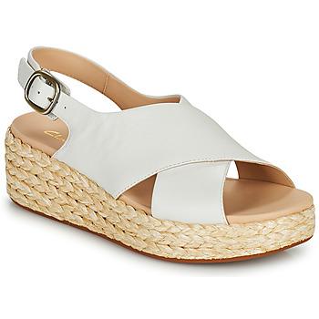 鞋子 女士 凉鞋 Clarks 其乐 KIMMEI CROSS 白色