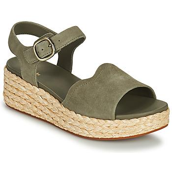 鞋子 女士 凉鞋 Clarks 其乐 KIMMEI WAY 卡其色
