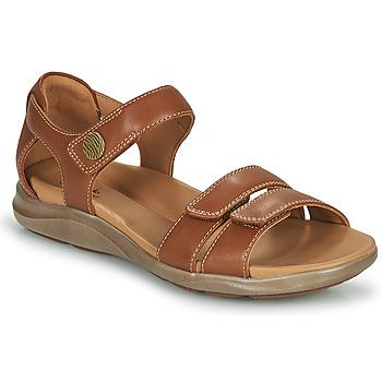 鞋子 女士 凉鞋 Clarks 其乐 KYLYN STRAP 米色