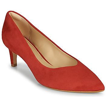 鞋子 女士 高跟鞋 Clarks 其乐 LAINA55 COURT2 红色