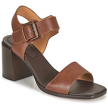 鞋子 女士 凉鞋 Clarks 其乐 LANDRA70 STRAP 棕色