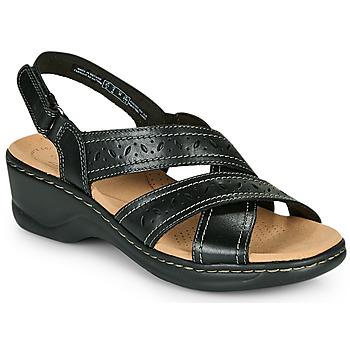 鞋子 女士 凉鞋 Clarks 其乐 LEXI PEARL 黑色