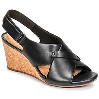 鞋子 女士 凉鞋 Clarks 其乐 MARGEE EVE 黑色