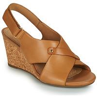 鞋子 女士 凉鞋 Clarks 其乐 MARGEE EVE 米色
