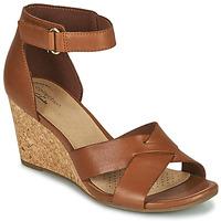 鞋子 女士 凉鞋 Clarks 其乐 MARGEE GRACIE 棕色
