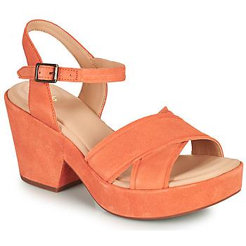 鞋子 女士 凉鞋 Clarks 其乐 MARITSA70STRAP 珊瑚色