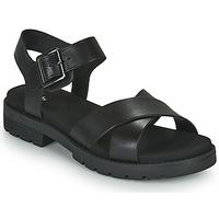 鞋子 女士 凉鞋 Clarks 其乐 ORINOCO STRAP 黑色
