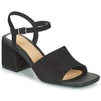 鞋子 女士 凉鞋 Clarks 其乐 SHEER65 BLOCK 黑色