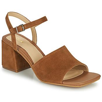 鞋子 女士 凉鞋 Clarks 其乐 SHEER65 BLOCK 驼色