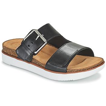 鞋子 女士 休闲凉拖/沙滩鞋 Clarks 其乐 ELYANE EEASE 黑色