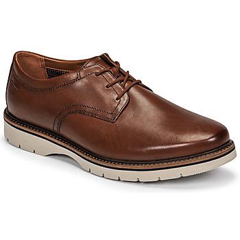 鞋子 男士 德比 Clarks 其乐 BAYHILL PLAIN 棕色