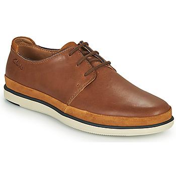 鞋子 男士 德比 Clarks 其乐 BRATTON LACE 棕色