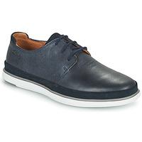 鞋子 男士 德比 Clarks 其乐 BRATTON LACE 蓝色