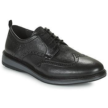 鞋子 男士 德比 Clarks 其乐 CHANTRY WING 黑色