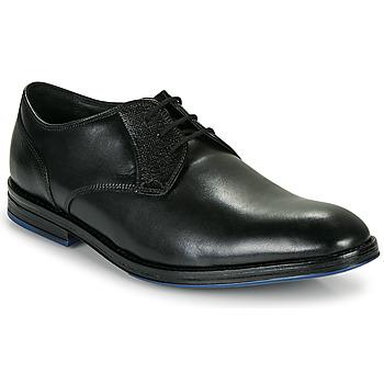 鞋子 男士 德比 Clarks 其乐 CITISTRIDELACE 黑色