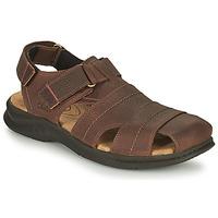 鞋子 男士 运动凉鞋 Clarks 其乐 HAPSFORD COVE 棕色
