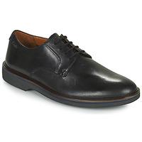 鞋子 男士 德比 Clarks 其乐 MALWOOD PLAIN 黑色