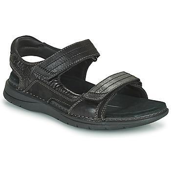 鞋子 男士 运动凉鞋 Clarks 其乐 NATURE TREK 黑色