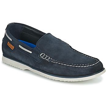 鞋子 男士 船鞋 Clarks 其乐 NOONAN STEP 蓝色