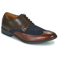 鞋子 男士 德比 Clarks 其乐 STANFORD LIMIT 棕色 / 蓝色