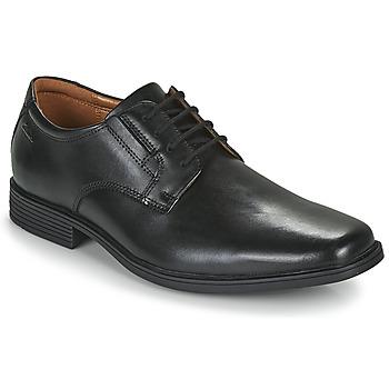 鞋子 男士 德比 Clarks 其乐 TILDEN PLAIN 黑色