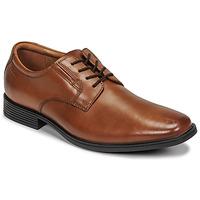 鞋子 男士 德比 Clarks 其乐 TILDEN PLAIN 棕色