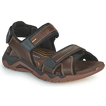 鞋子 男士 运动凉鞋 Clarks 其乐 WAVE2.0 JAUNT 棕色