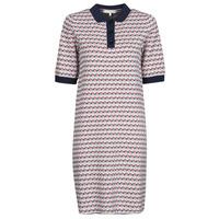衣服 女士 短裙 Tommy Hilfiger TH CUBE SHIFT SHORT DRESS SS 白色 / 红色 / 海蓝色