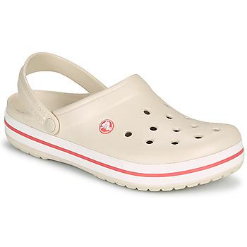 鞋子 女士 洞洞鞋/圆头拖鞋 crocs 卡骆驰 CROCBAND 米色 / 珊瑚色