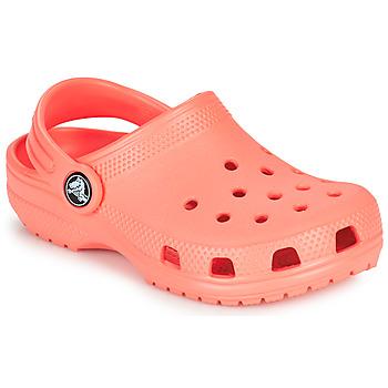 鞋子 儿童 洞洞鞋/圆头拖鞋 crocs 卡骆驰 CLASSIC CLOG K 橙色