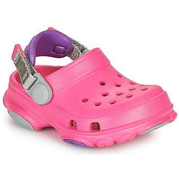 鞋子 女孩 洞洞鞋/圆头拖鞋 crocs 卡骆驰 CLASSIC ALL-TERRAIN CLOG K 玫瑰色