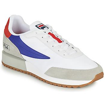 鞋子 男士 球鞋基本款 Fila RETRONIQUE 白色 / 蓝色 / 红色