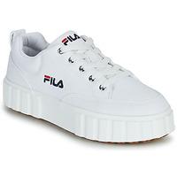 鞋子 女士 球鞋基本款 Fila SANDBLAST C WMN 白色