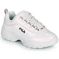 鞋子 女士 球鞋基本款 Fila STRADA F WMN 白色