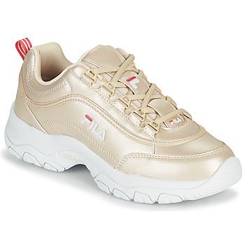 鞋子 女士 球鞋基本款 Fila STRADA F WMN 金色