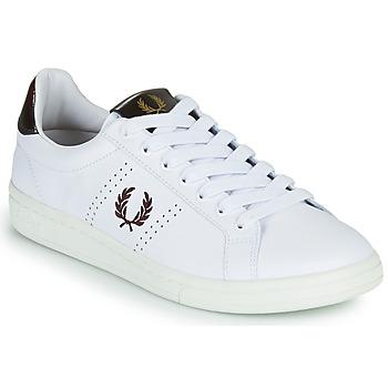 鞋子 男士 球鞋基本款 Fred Perry B721 白色