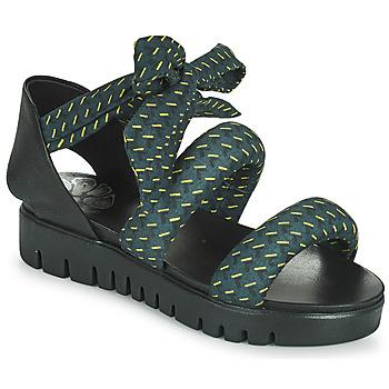 鞋子 女士 凉鞋 Papucei LILLA 蓝色 / 黑色