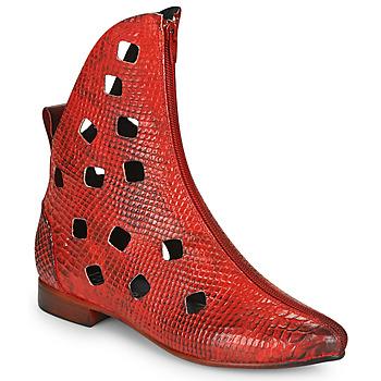 鞋子 女士 短筒靴 Papucei SAKURA 红色