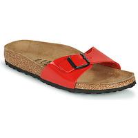鞋子 女士 休闲凉拖/沙滩鞋 Birkenstock 勃肯 MADRID 红色