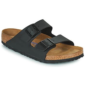 鞋子 男士 休闲凉拖/沙滩鞋 Birkenstock 勃肯 ARIZONA SFB 黑色