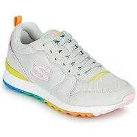 鞋子 女士 球鞋基本款 Skechers 斯凯奇 OG 85 白色 / 黄色