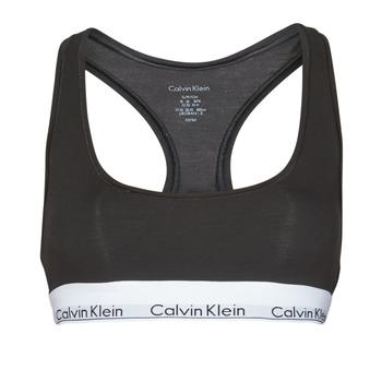 内衣  女士 胸衣 Calvin Klein Jeans MODERN COTTON UNLINED BRALETTE 黑色