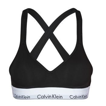 内衣  女士 胸衣 Calvin Klein Jeans MODERN COTTON BRALETTE LIFT 黑色