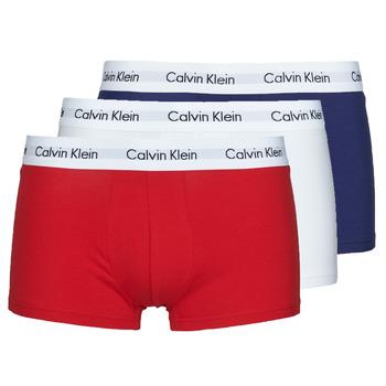 内衣  男士 拳击 Calvin Klein Jeans RISE TRUNK X3 海蓝色 / 白色 / 红色