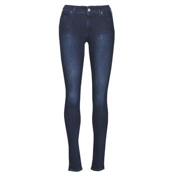 衣服 女士 牛仔铅笔裤 Replay NEW LUZ 蓝色 / Fonce