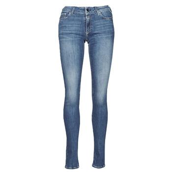 衣服 女士 牛仔铅笔裤 Replay NEW LUZ 蓝色 / Moyen